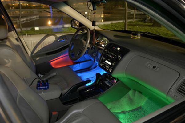 Подсветка для салона автомобиля своими руками